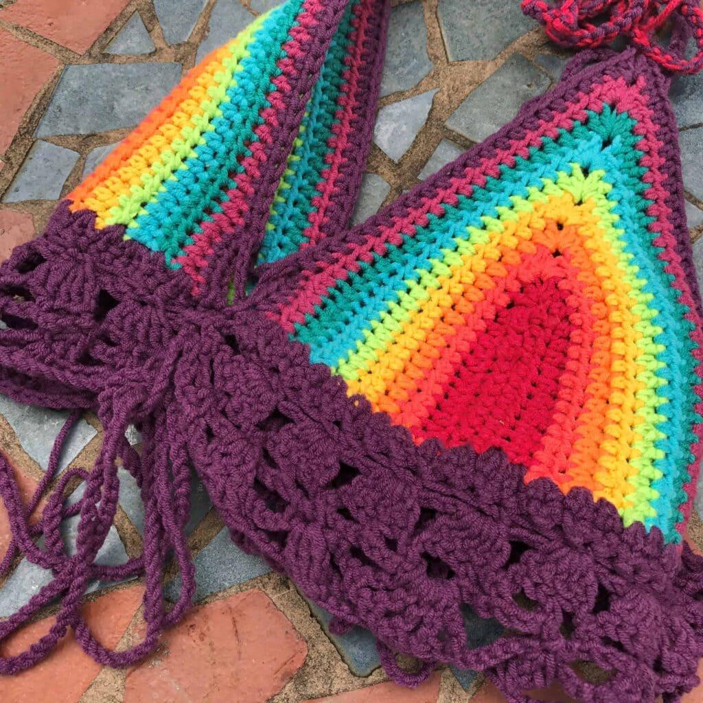 Crochet Bikini Free Pattern On Table