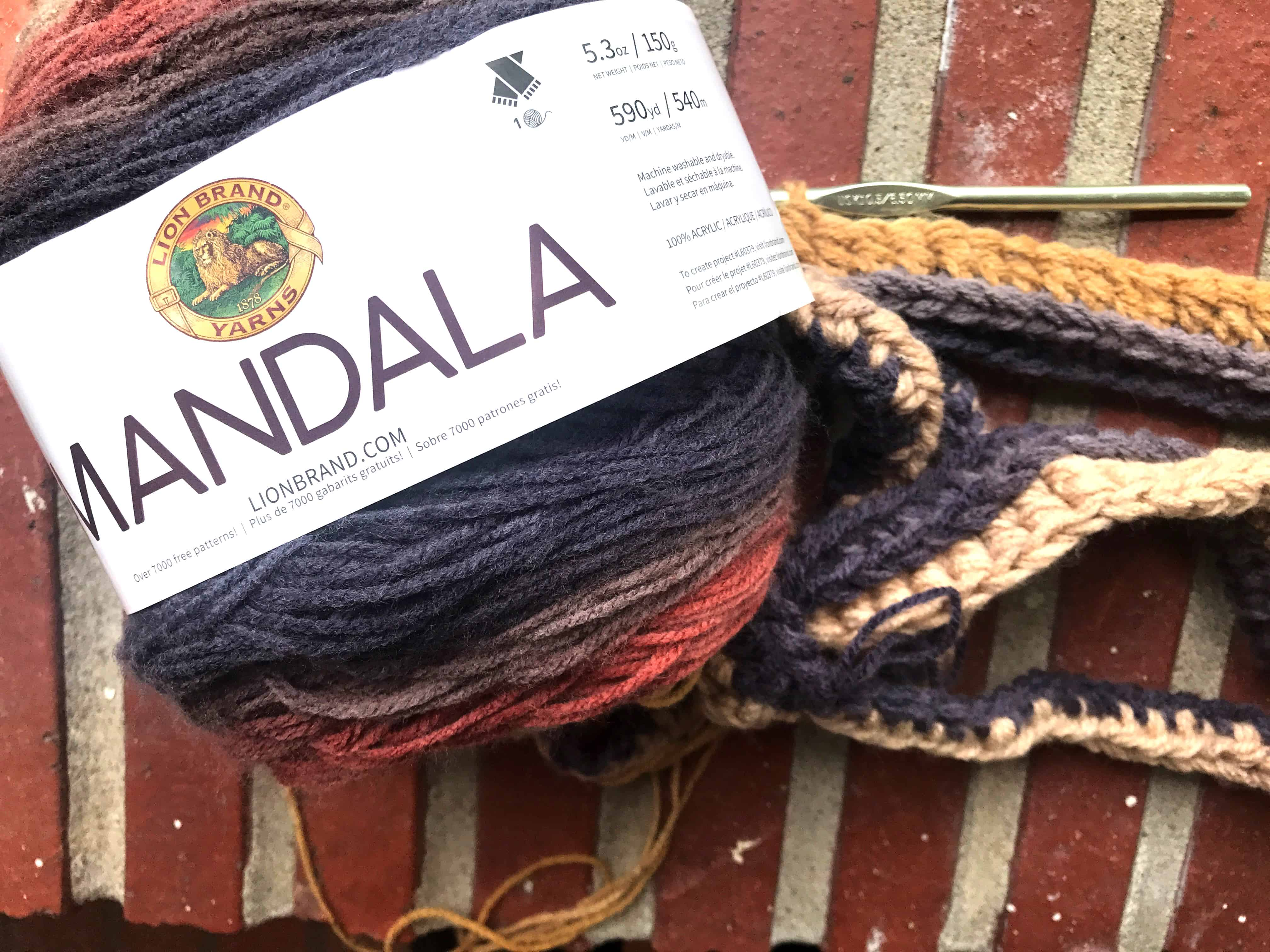 mandala cantaur infinity scarf 11