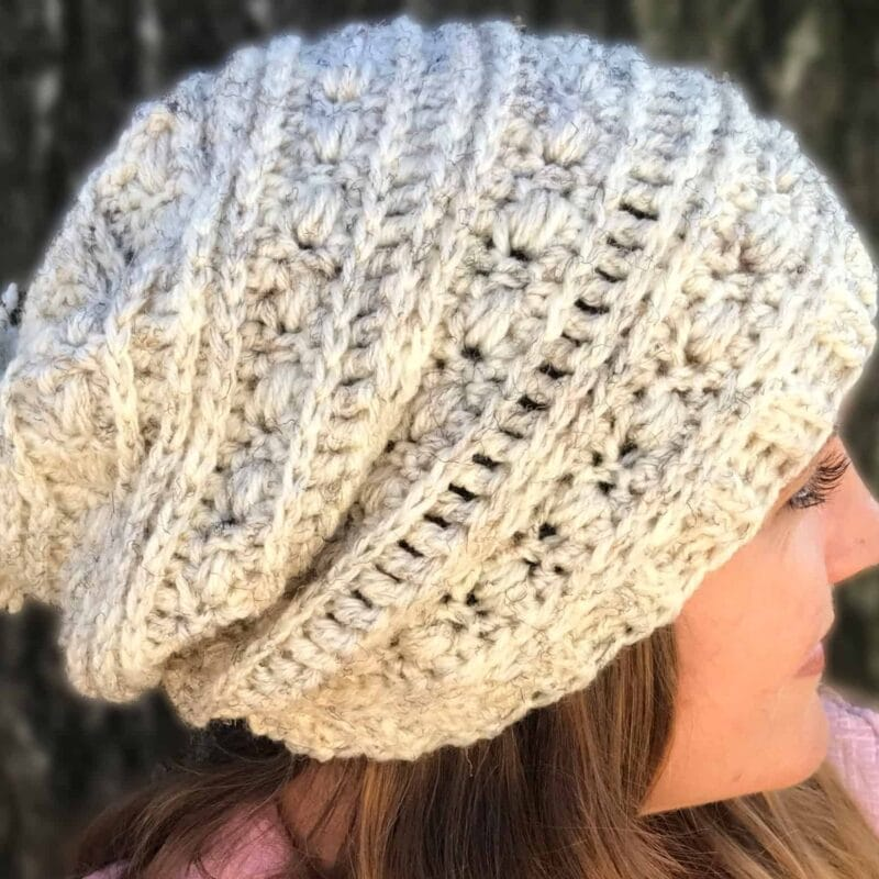 Sequoia Ridge Slouch Free Crochet Pattern