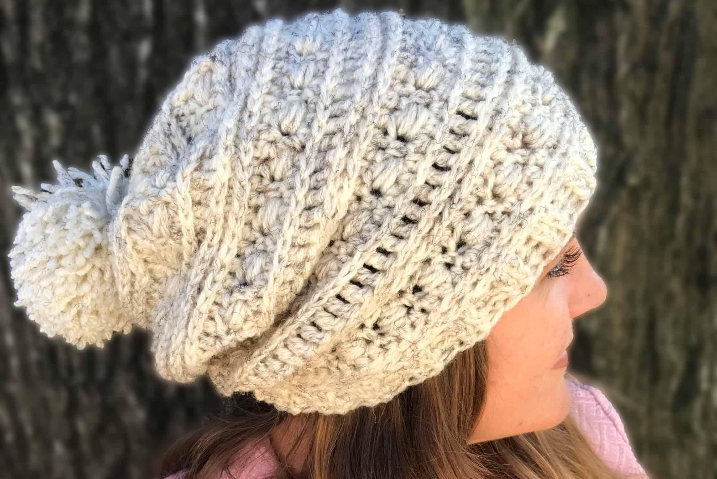 Sequoia Ridge Slouch Free Crochet Pattern