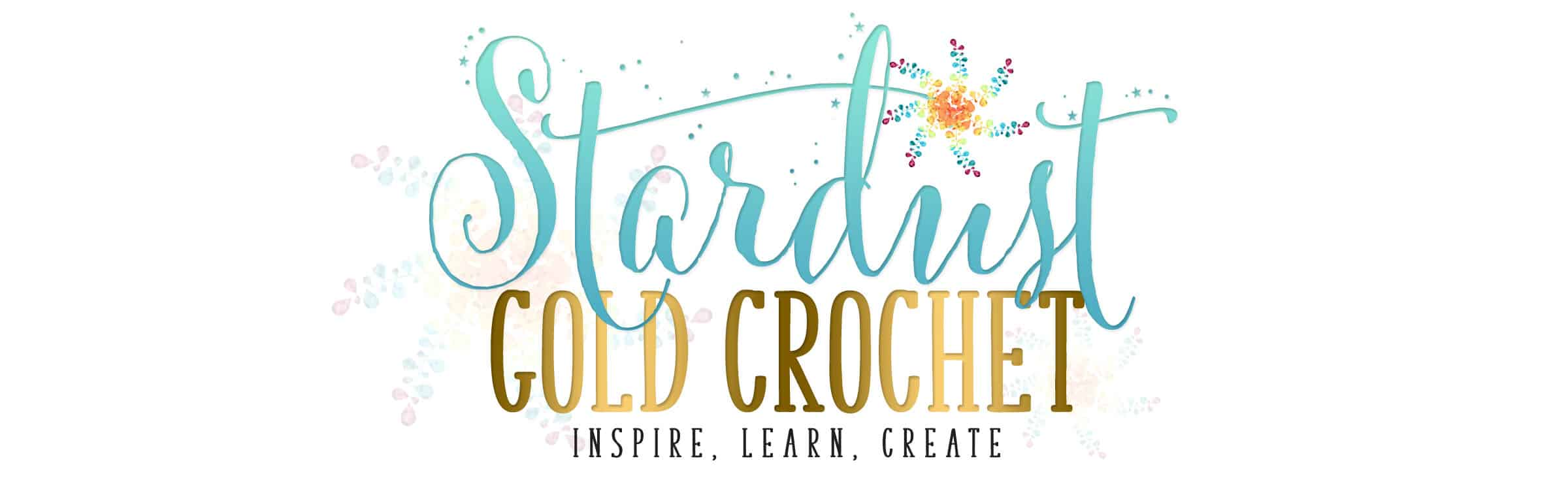 Stardust Gold Crochet