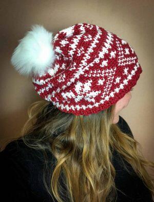 Fair Isle Crochet Beanie Pattern