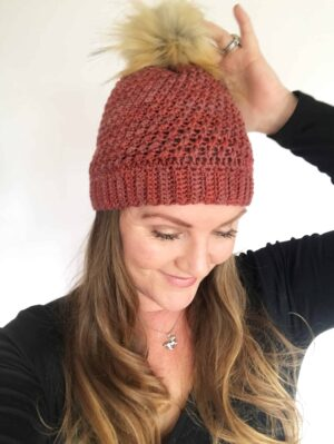 Lyra Beanie Side View