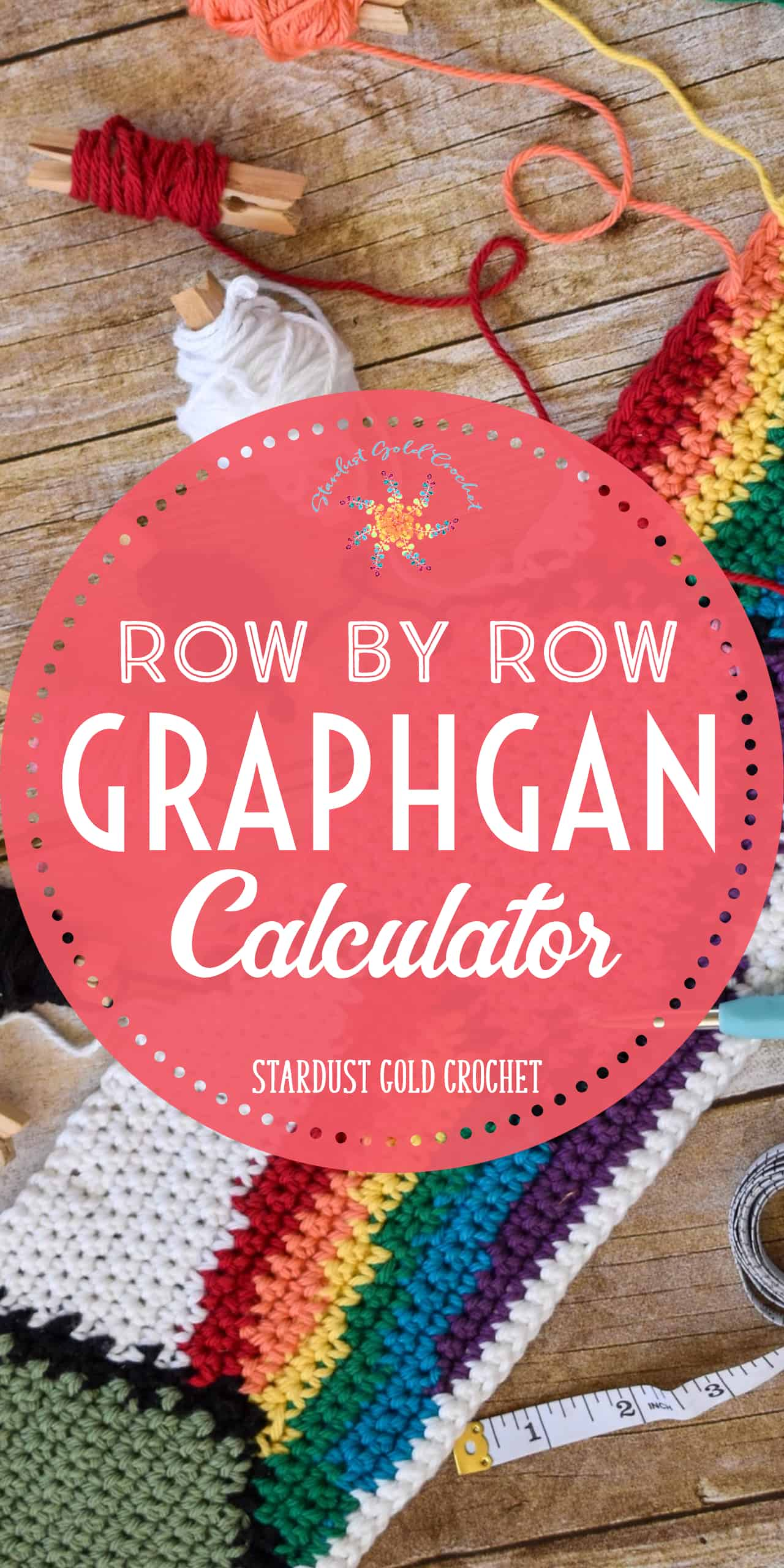 Row by Row Graphghan Calculator Pinterest Pin