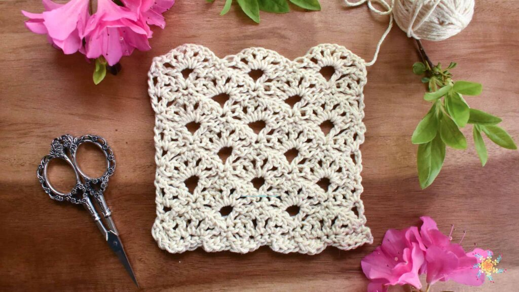 Cornflower Crochet Stitch Tutorial