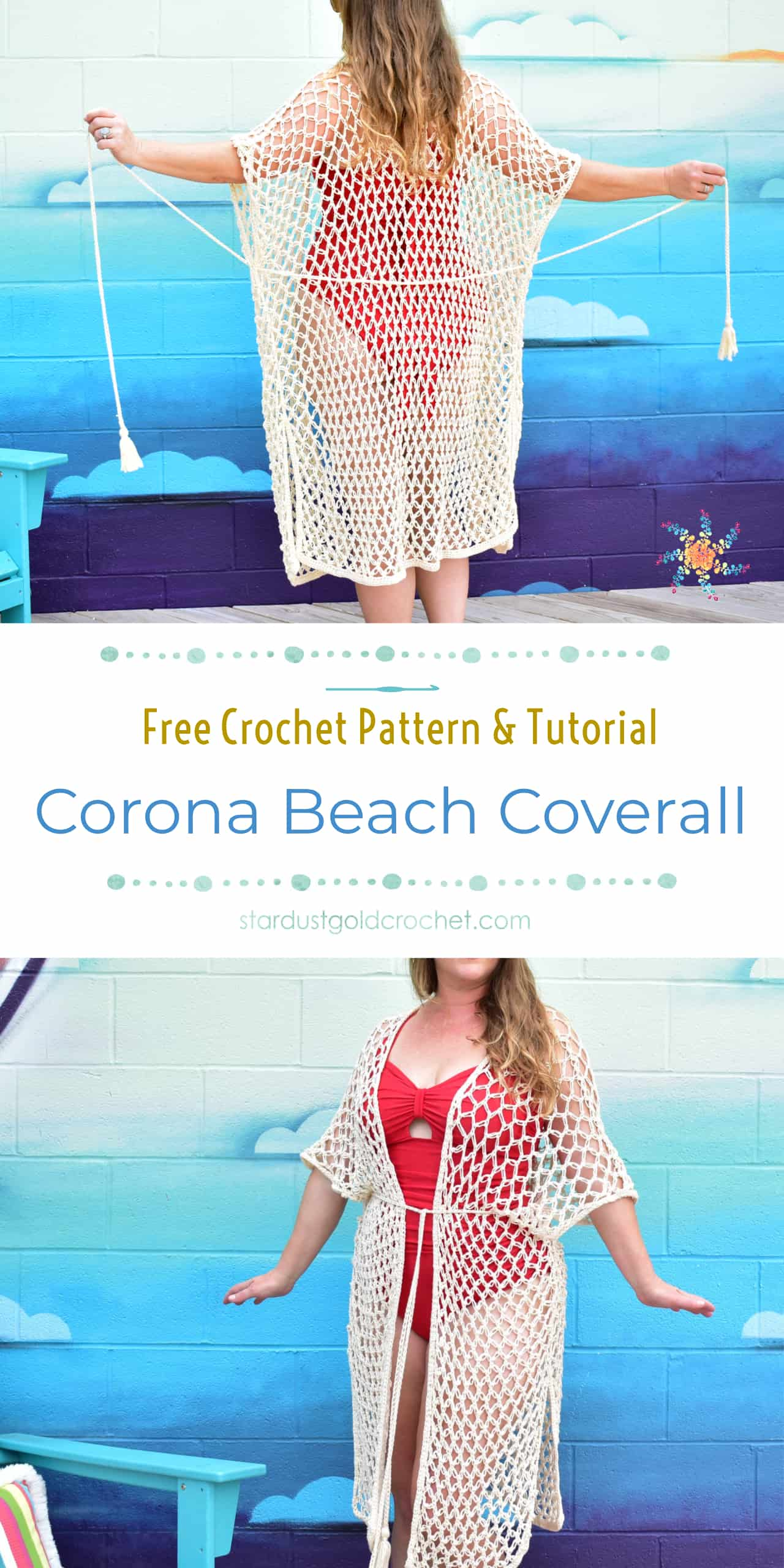 Corona Beach Coverall