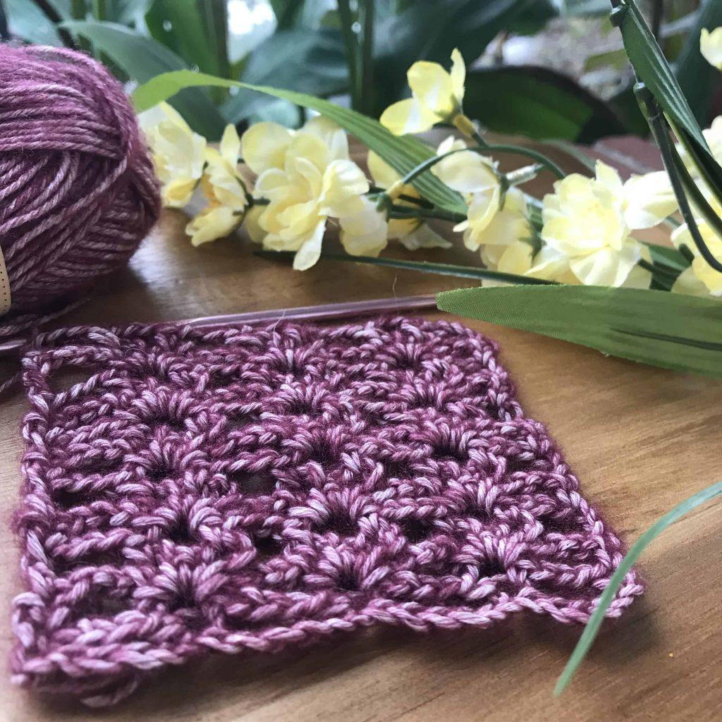 picot mesh crochet with scheepjes yarn