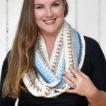 Mandala Infinity Scarf by Stardust Gold Crochet