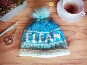 Clean Beanie by Stardust Gold Crochet