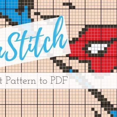 Winstitch export to PDF