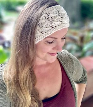 Astrid Headband Beginner Crochet Pattern