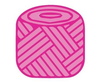 cake of yarn