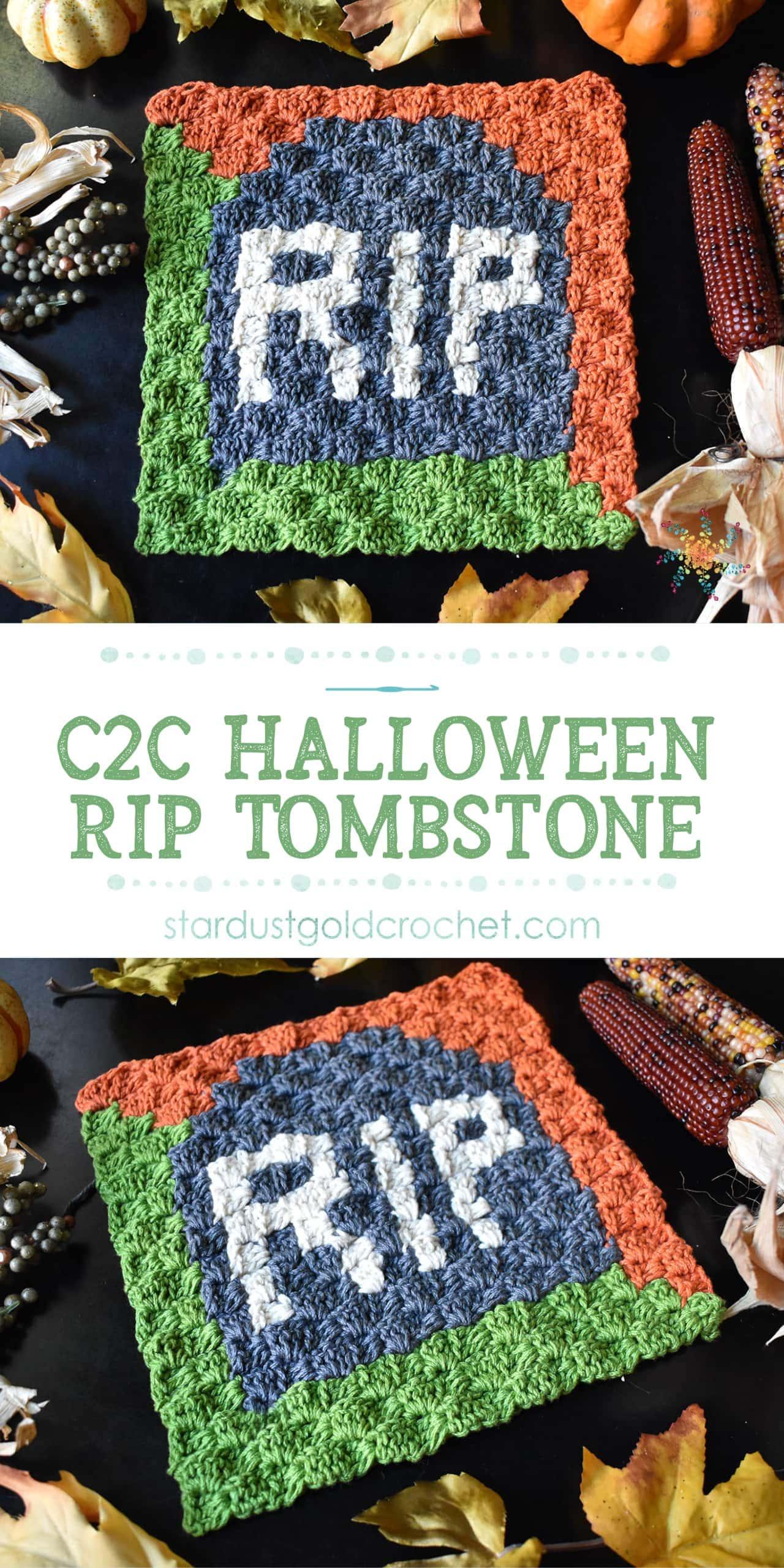 Halloween Tombstone C2C