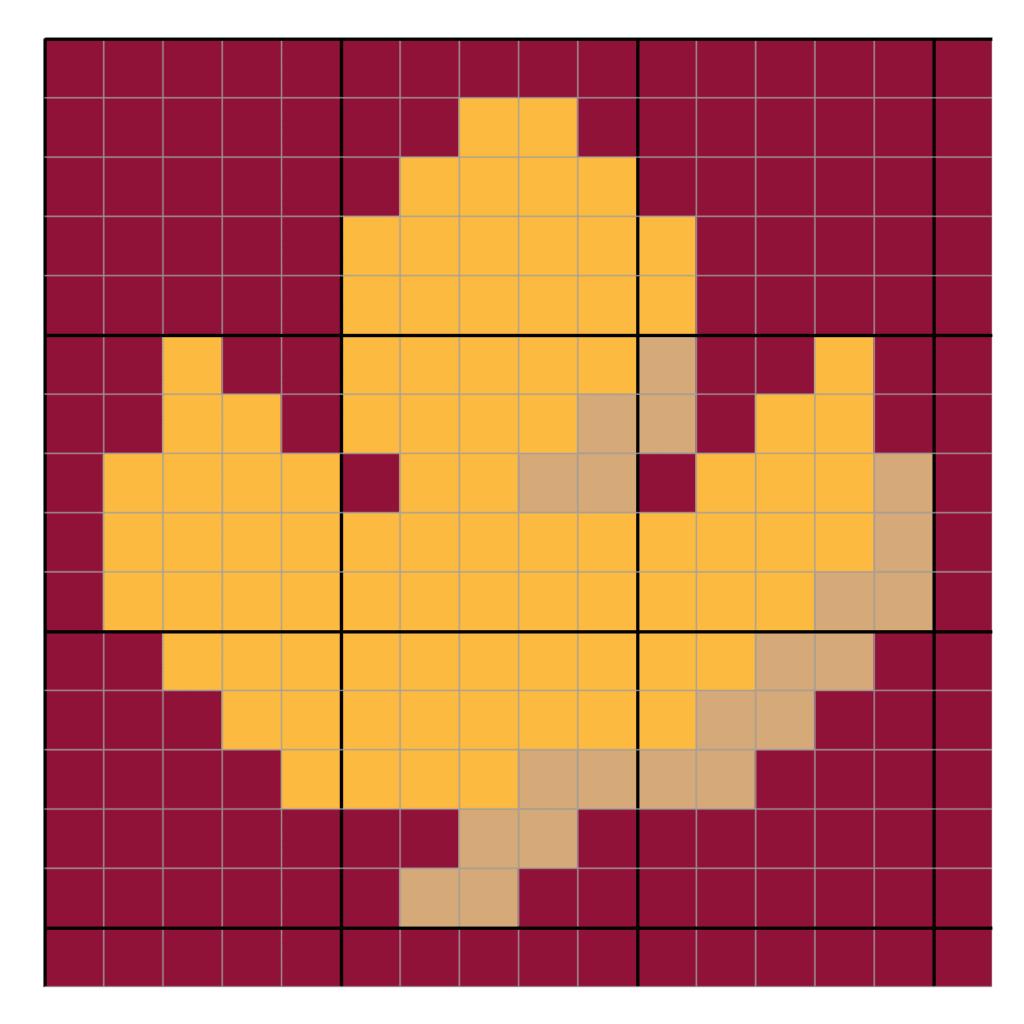 Fall Leaf C2C