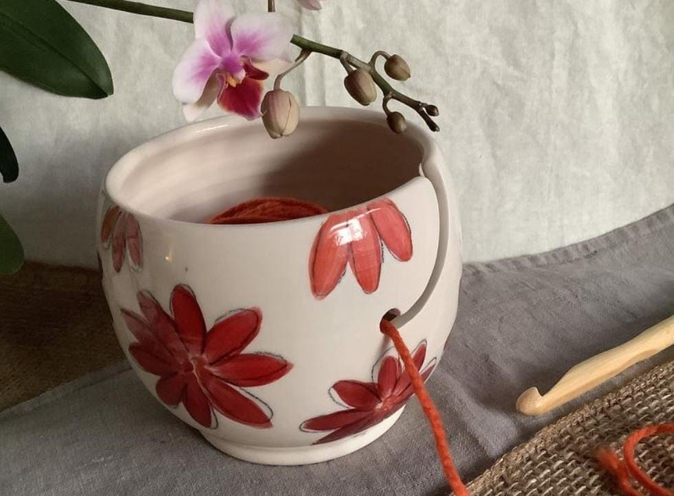 Small Yarn Bowl by LaPoteriedu Chalet