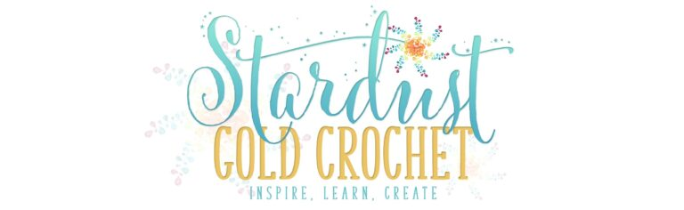 Stardust Gold Crochet Logo