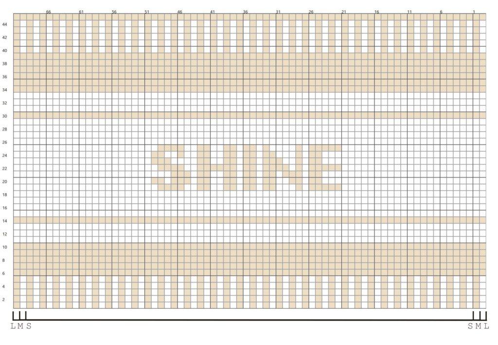 Shine Beanie Graph
