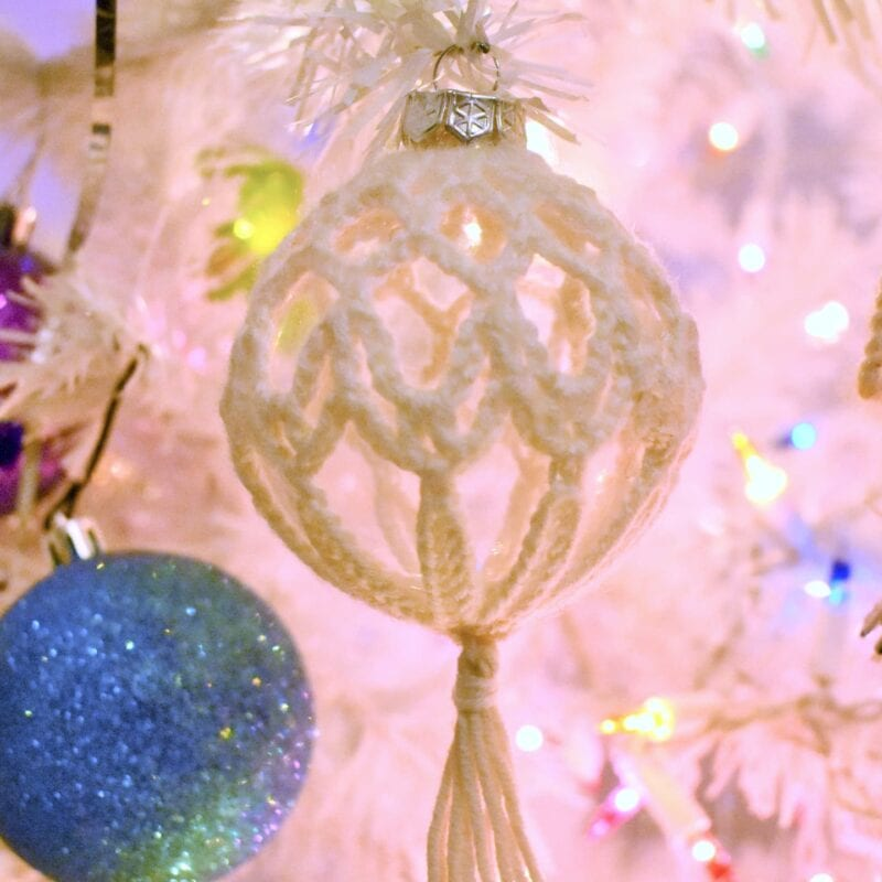 starlight crochet ornament free crochet pattern