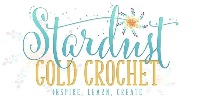 Stardust Gold Crochet