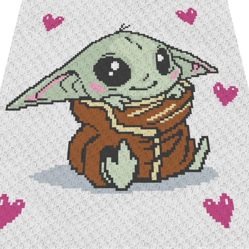 Baby Yoda The Child C2C Overlay