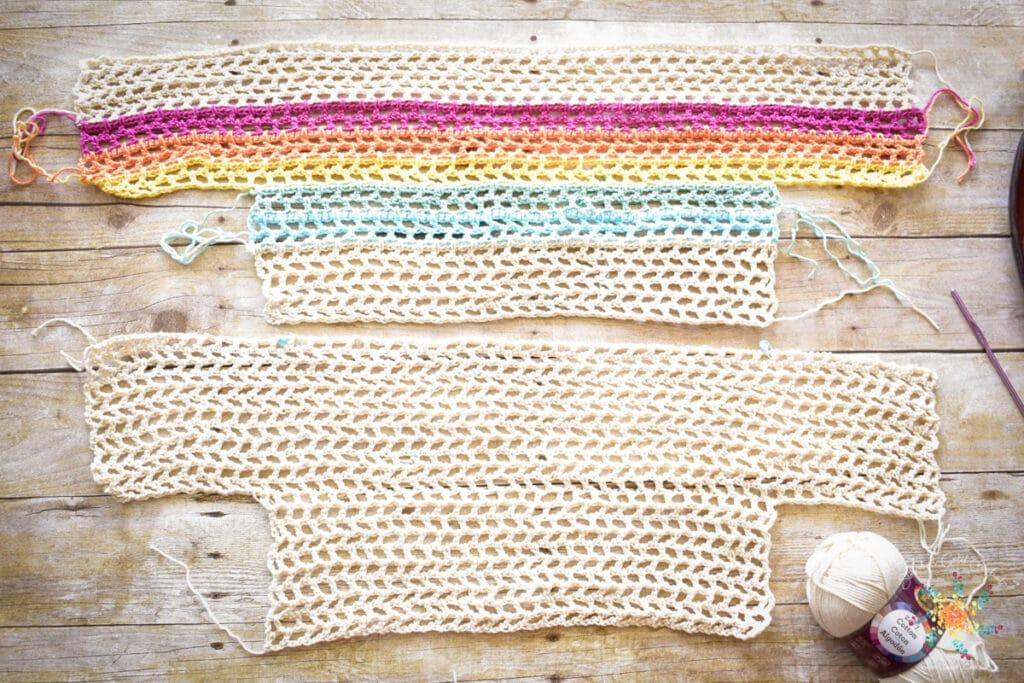 Rainbow Mesh Crochet Crop Top Pattern (5 of 56)